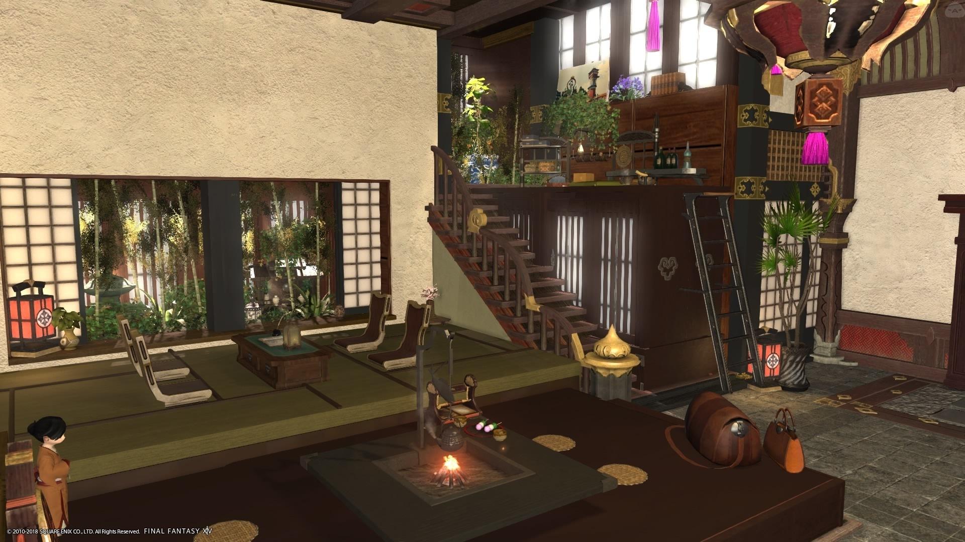 Indoor Garden Apartment Interior Design Inspiration