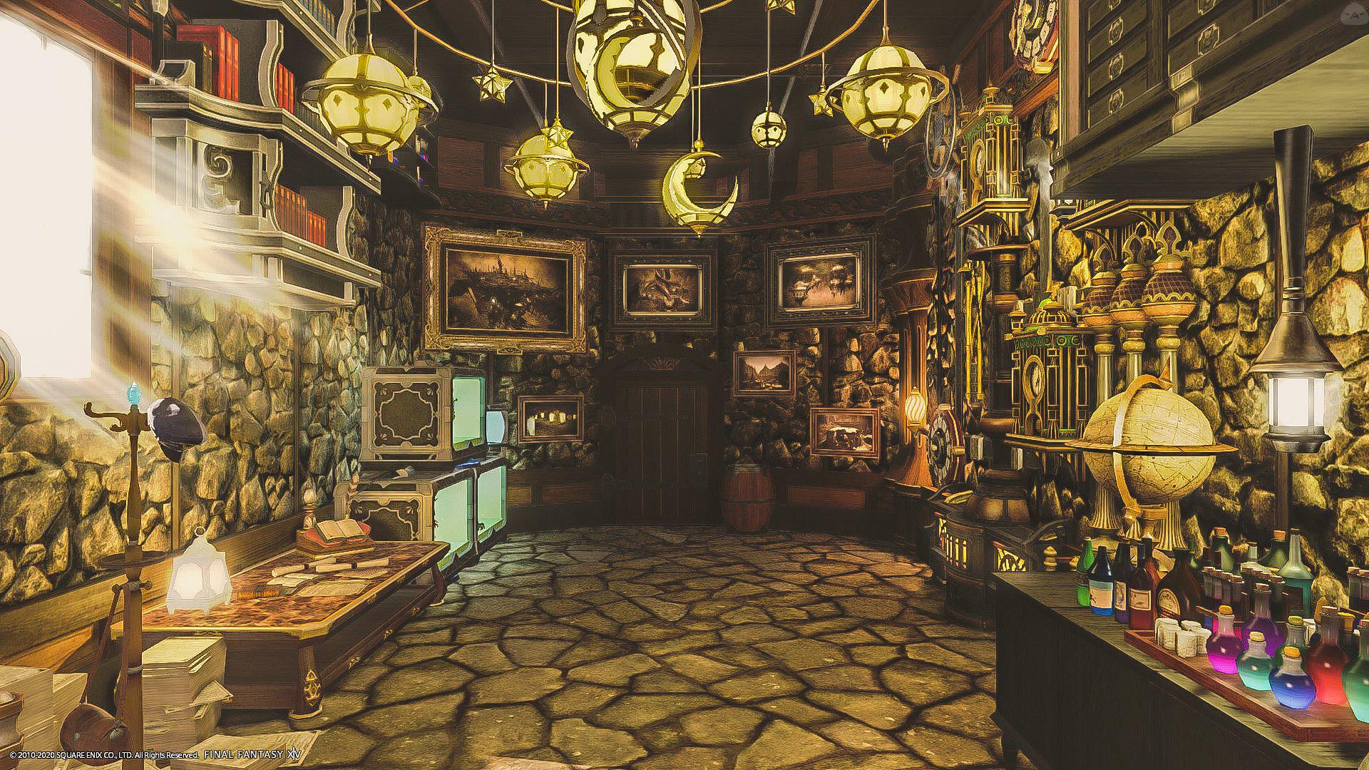 スチームパンクルーム Steampunk Room Housing Snap